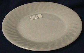 Fire King Swirl White Salad Plate