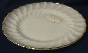 Fire King Golden Shell Salad Plate