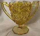 Monticello Yellow Trophy Vase
