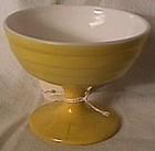 Moderntone Yellow and White Sherbet