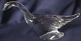 Heisey Crystal Goose