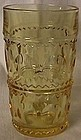 Thumbprint Yellow Ice Tea Tumbler
