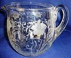 Woodland Jug Fostoria Glass Company