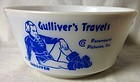 Gulliver's Travels King Little & Bombo Blue Bowl