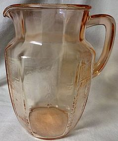 Princess Pink Pitcher Hocking Glass Company