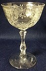 Meadow Rose Crystal Champagne Fostoria Glass Company