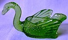 "Swan Green 2.5"" Cambridge Glass Company"