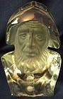 """Sea Captain Crystal 7"""" Viking Glass Company"""