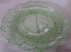 Avocado Green Saucer Indiana Glass Company