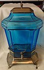 "Samovar Blue 14.5"" Tall 8"" x 6"""