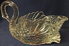 "Swan 6"" Crystal Cambridge Glass Company"