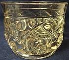 "Snail Crystal Saucedish 37/8"" 3"" Tall Duncan Miller Glass Company"
