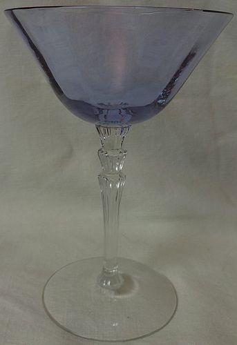 """Line 5099 Wisteria High Sherbet 6 1/8"""" 6 oz Fostoria Glass Company"""