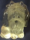"Dog 5.75"" Crystal Viking Glass Company"