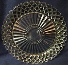 "Waterford Crystal Dinner Plate 9.5"" Hocking Glass Company"