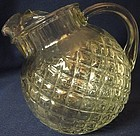 Waterford Crystal Juice Pitcher 24 oz Tilted Hocking Glass Company