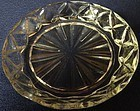 "Waterford Crystal Coaster 4"" Hocking Glass Company"