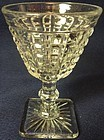 "Monticello Crystal Cocktail 3 7/8"" Imperial Glass Company"
