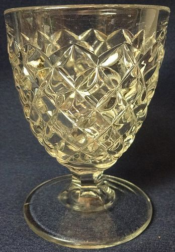 "Juice Goblet 3.75"" Crystal"