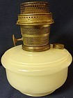 Model B White Moonstone Kerosene Lamp Aladdin Mantle Lamp Company