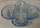 "Caprice Moonlight Blue Celery 3 Part 8.5"" #124 Cambridge Glass Company"