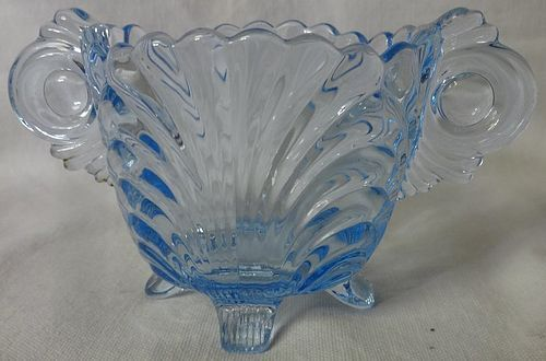 "Cambridge Moonlight Blue Sugar 3"" #38 Cambridge Glass Company"