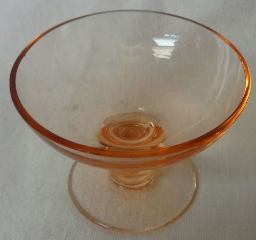 Nut Cup Pink Tiffin Glass Company