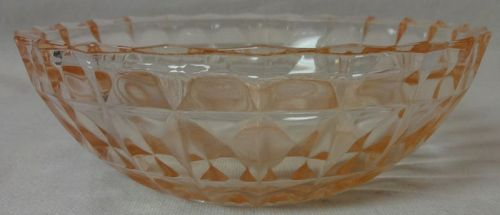 "Windsor Z Z Bowl 5"" Jeannette Glass Company"