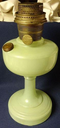 Simplicity Green Kerosene Lamp Aladdin Mantle Lamp Company