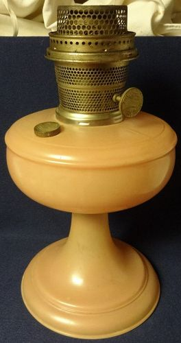 Venetian Rose Kerosene Lamp Aladdin Mantle Lamp Company