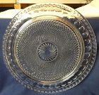 """Tradition Birthday Cake Plate 13"""" Imperial Glass Company"""