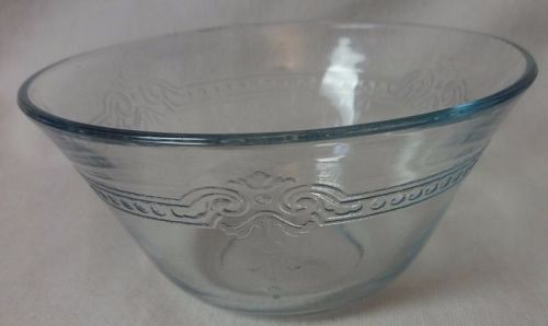 "Sapphire Blue Custard Cup 4"" 6 oz Fire King Anchor Hocking Glass"