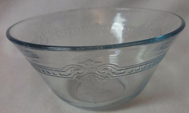 "Sapphire Blue Custard Cup 4"" 6 oz Fire King Anchor Hocking Glass"