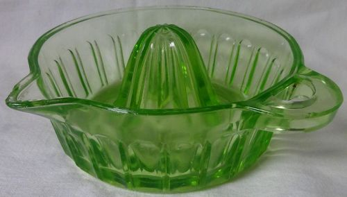 Straight Side Reamer Green Fry Glass Company