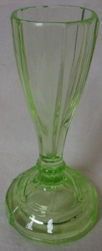 Cordial Green Heavy Bottom 4 5/16""