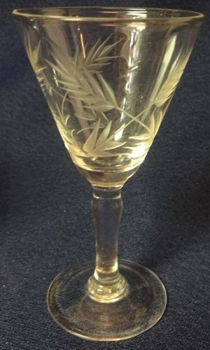 Wheat Crystal Cordial 3 9/16""
