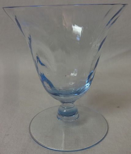 """Caprice Moonlight Blue Oyster Cocktail 3 5/8"""" 4.5 oz Cambridge Glass"""