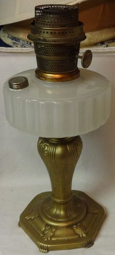 Majestic White Moonstone Kerosene Lamp Aladdin Mantle Lamp Company
