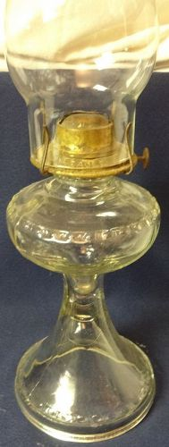"Oil Lamp 10.5"" & Chimney"