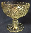 Waterford Crystal Scalloped Top Sherbet Hocking Glass Company
