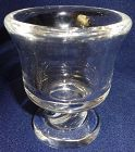 "Cigarette Holder Crystal 3"" Steuben Glass"