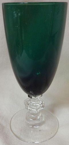 "Kilarney & Crystal Juice 5"" Tiffin Glass Company"