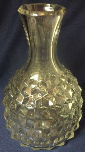 "American Crystal Bottle 9.25"" Fostoria Glass Company"