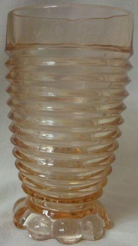 "Manhattan Pink Tumbler 5.25"" 10 oz Hocking Glass Company"