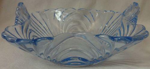 "Caprice Moonlight Blue BonBon 6"" #154 Cambridge Glass Company"