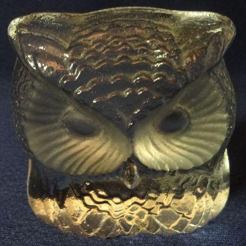 "Owl 2.75"" Crystal"