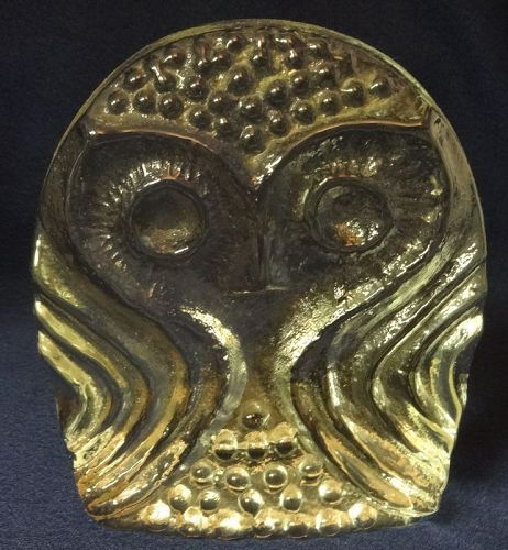 "Owl Crystal 5 3/8"" Blenko Glass Company"