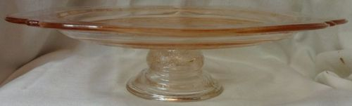 """Recollections Pink Footed Tray 10.25"""""""