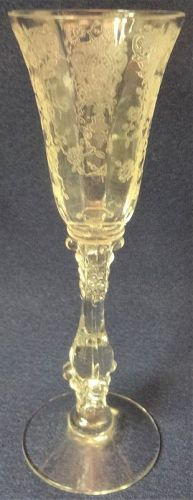 Rose Point Crystal Cordial 1 oz 3121 Cambridge Glass Company