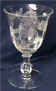 Rose Crystal Heisey Glass Co